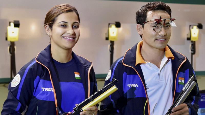 Jitu Rai, Heena Sidhu win medals at 10th Asian Championship