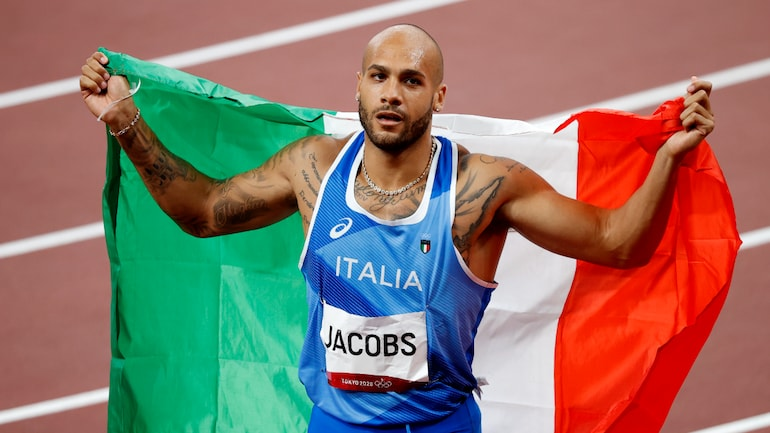 Lamont Marcell Jacobs registers victory in the Olympics 100m final