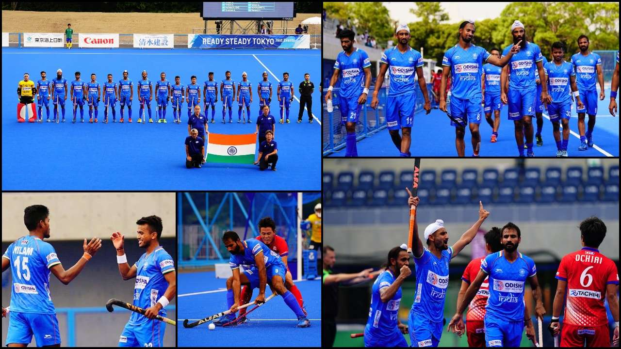 Olympic Test title: Indian hockey Men
