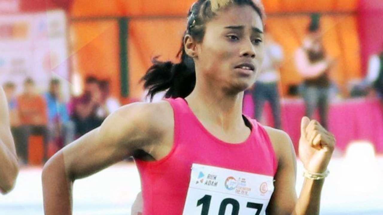 Hima Das wins second international gold