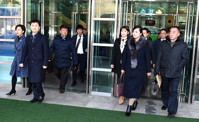 North Korean delegates arrive in Seoul to inspect for Winter Olympics