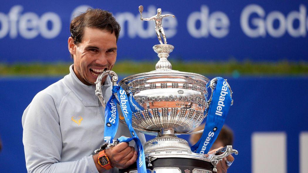 Rafael Nadal lifts Barcelona Open tennis title