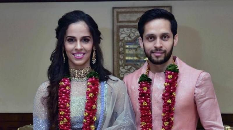 Saina Nehwal ties the knot with P Kashyap in Hyderabad