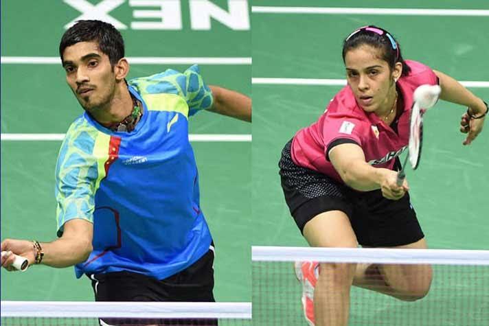 Saina, Srikanth enter the second round of Thailand Open