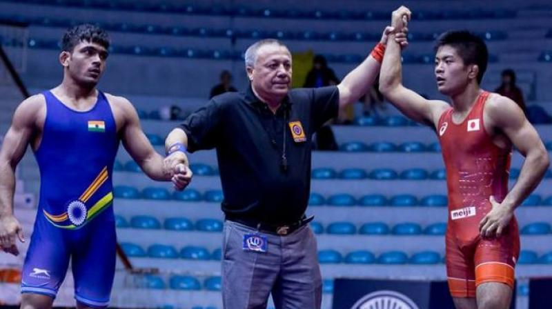 India bag five medals in Asian Junior Wrestling Championships