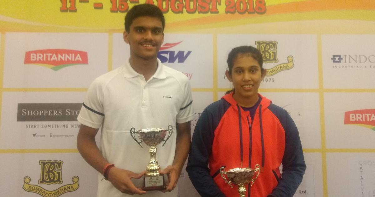 Unseeded Fadte, Sanya clinch junior titles in the Indian Classic Junior Open Squash