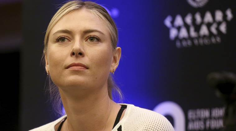 Maria Sharapova back after doping ban