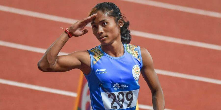 Hima Das appointed as DSP in Assam, to continue her sporting career