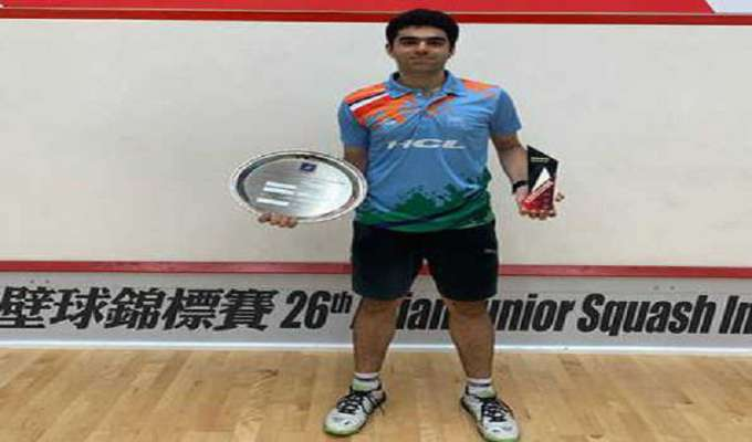 Veer Chotrani wins U-19 Asian Squash title