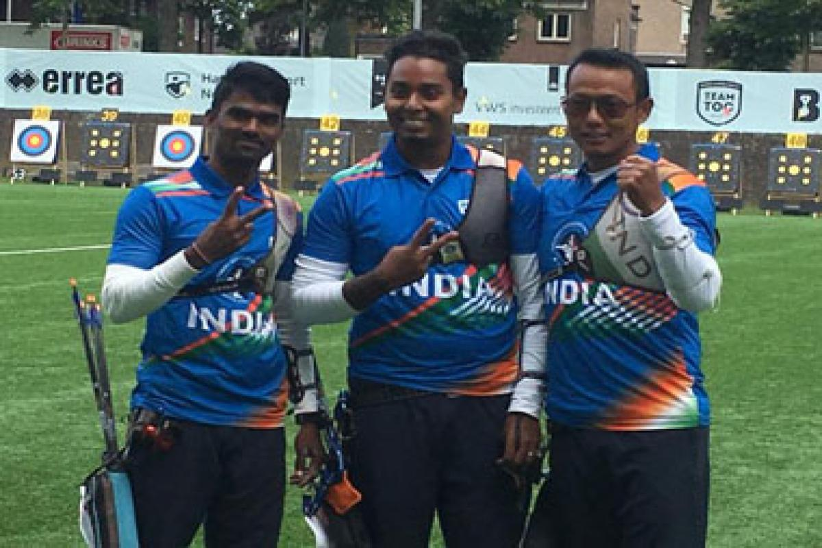 Archery World Championships: Indian men