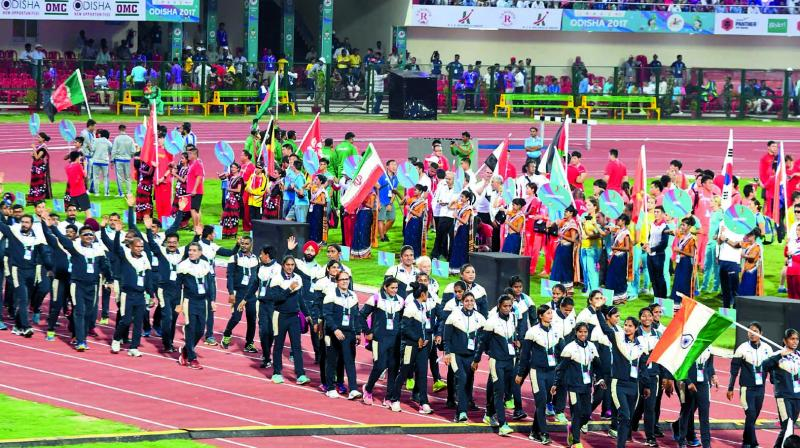 22nd Asian Athletics Championships kicks off with gala opening ceremony