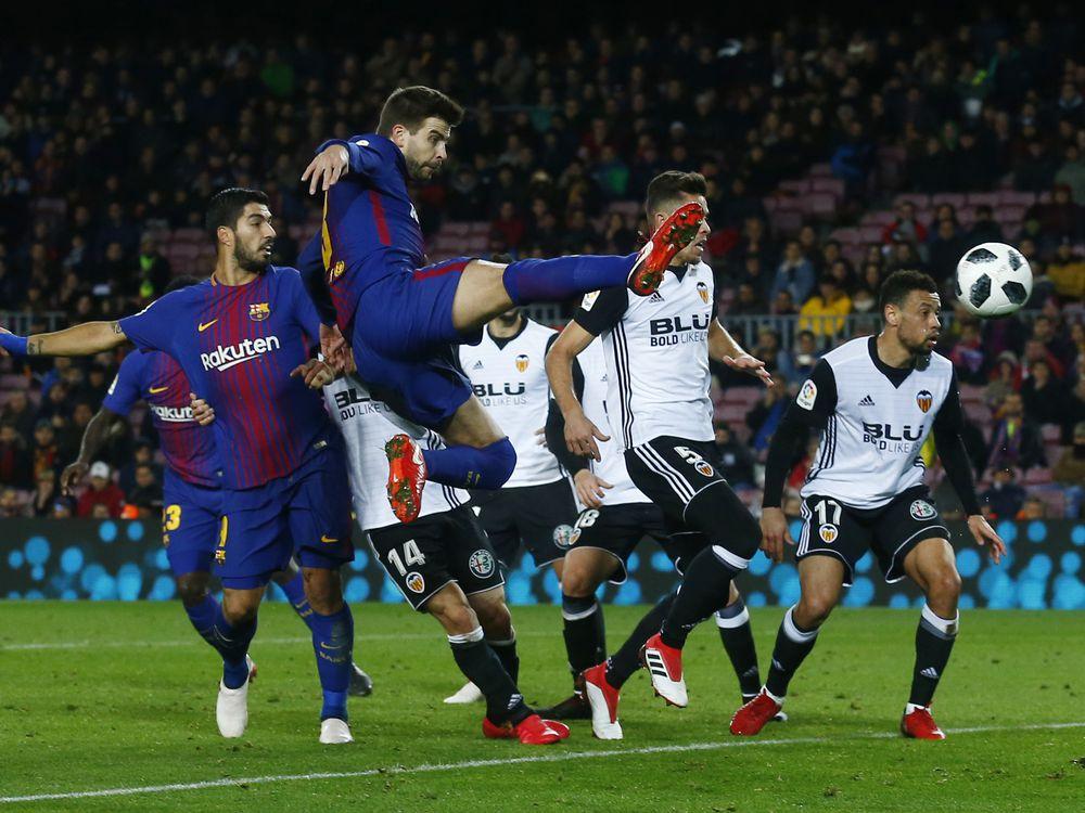 Barcelona Beat Valencia 1-0 in Copa Semis