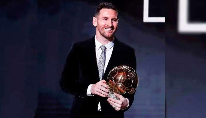 Lionel Messi wins Ballon d