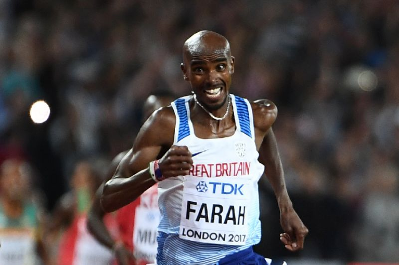 Brilliant Farah wins 10th successive global title