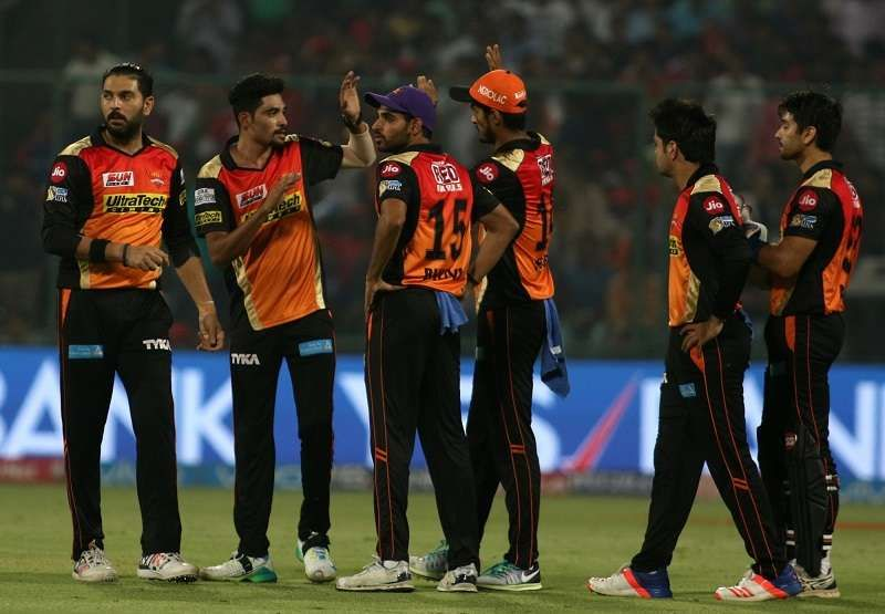 IPL 2017: Siddarth Kaul picks 4 wickets as SRH restrict RPS for 148/8