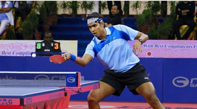 Sharath Kamal lifts National Men