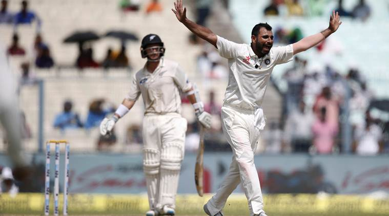 India bowl out New Zealand for 204, take 112-run lead..