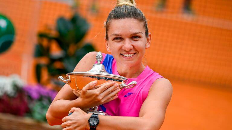 Simona Halep wins Italian Open title after Karolina Pliskova retires with injury