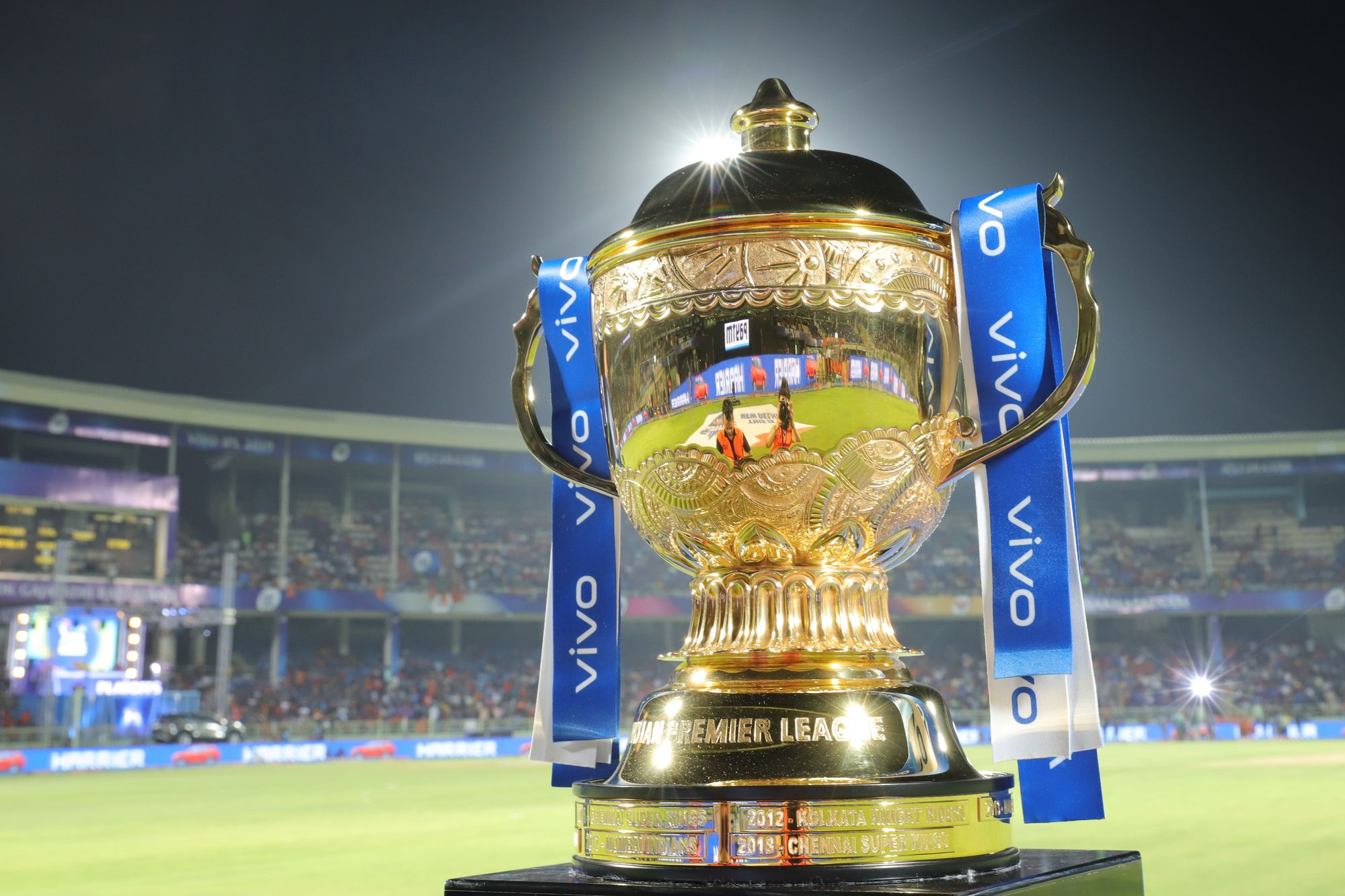 BCCI DECLARES SCHEDULE FOR VIVO IPL 2020