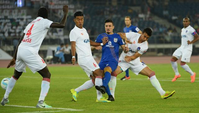 Delhi Dynamos to play out a 3-3 draw with Mumbai City FC