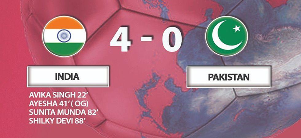 India beat Pakistan 4-0 in AFC U-16 Women