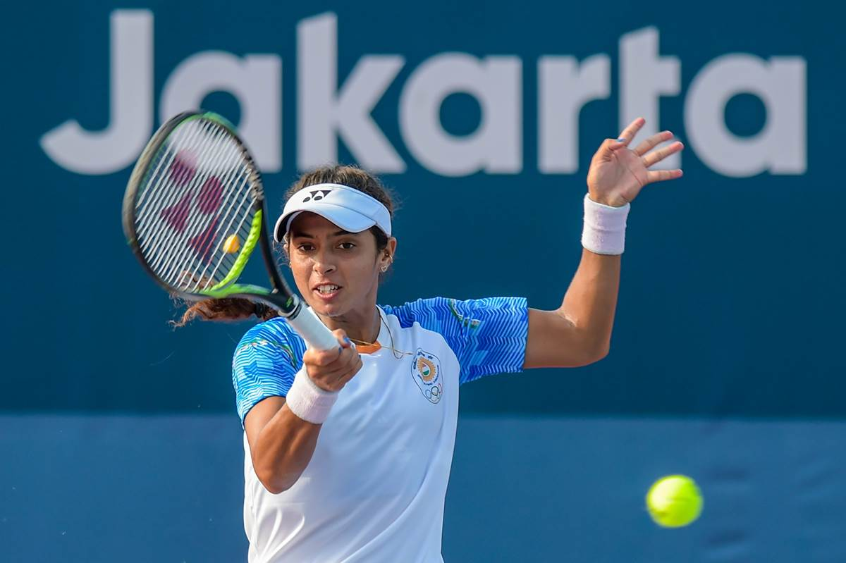 Ankita Raina progresses to singles quarterfinals in Luan