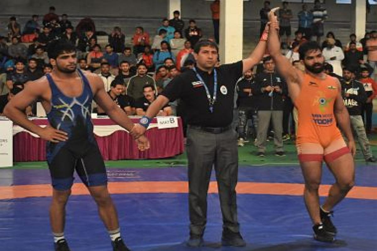 Gurpreet Singh, Sunil Kumar clinch gold medals in Senior National Championships