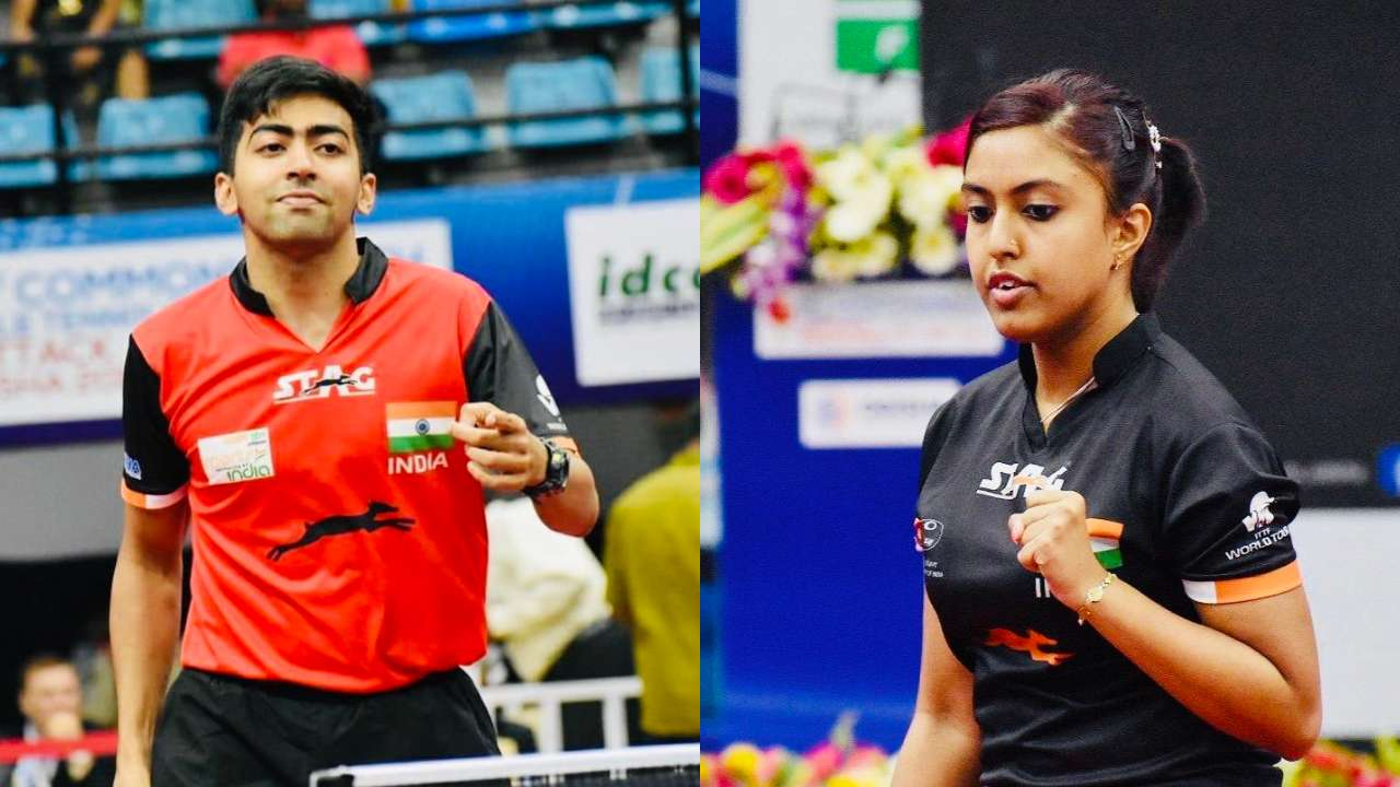 Table Tennis: India tops medal tally with seven gold at Commonwealth Championships