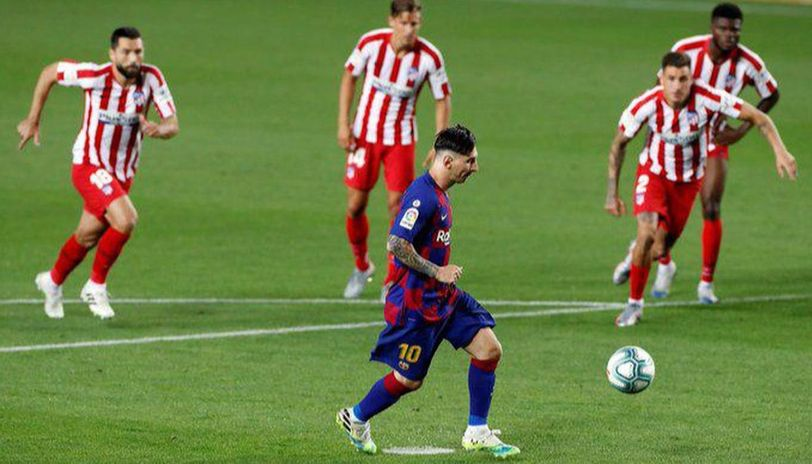 Messi scores 700th goal against Atletico Madrid in the Spanish league