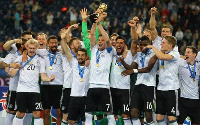 Germany lift Confederation Cup Football title beating Chile 1-0