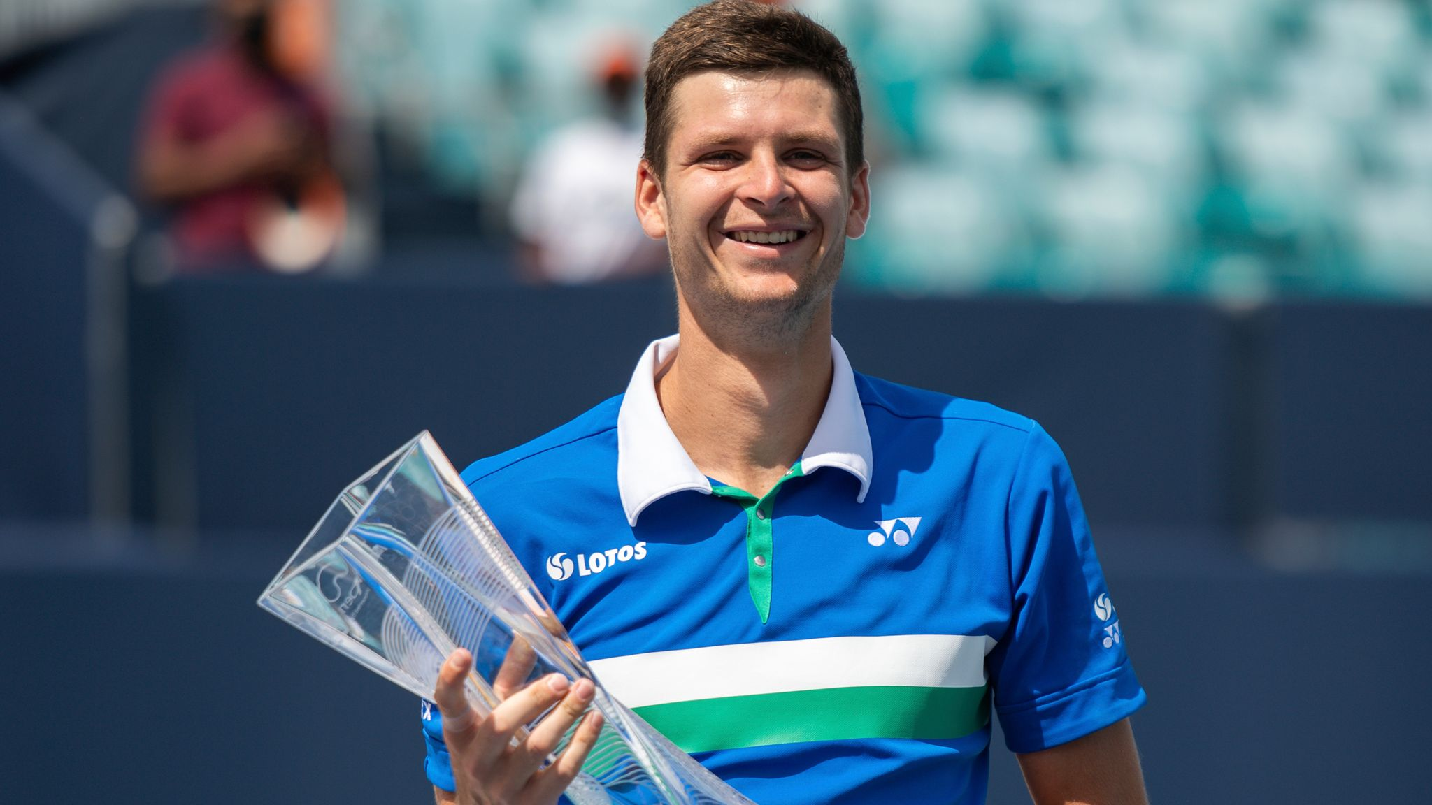 Hubert Hurkacz of Poland clinches Miami Open title