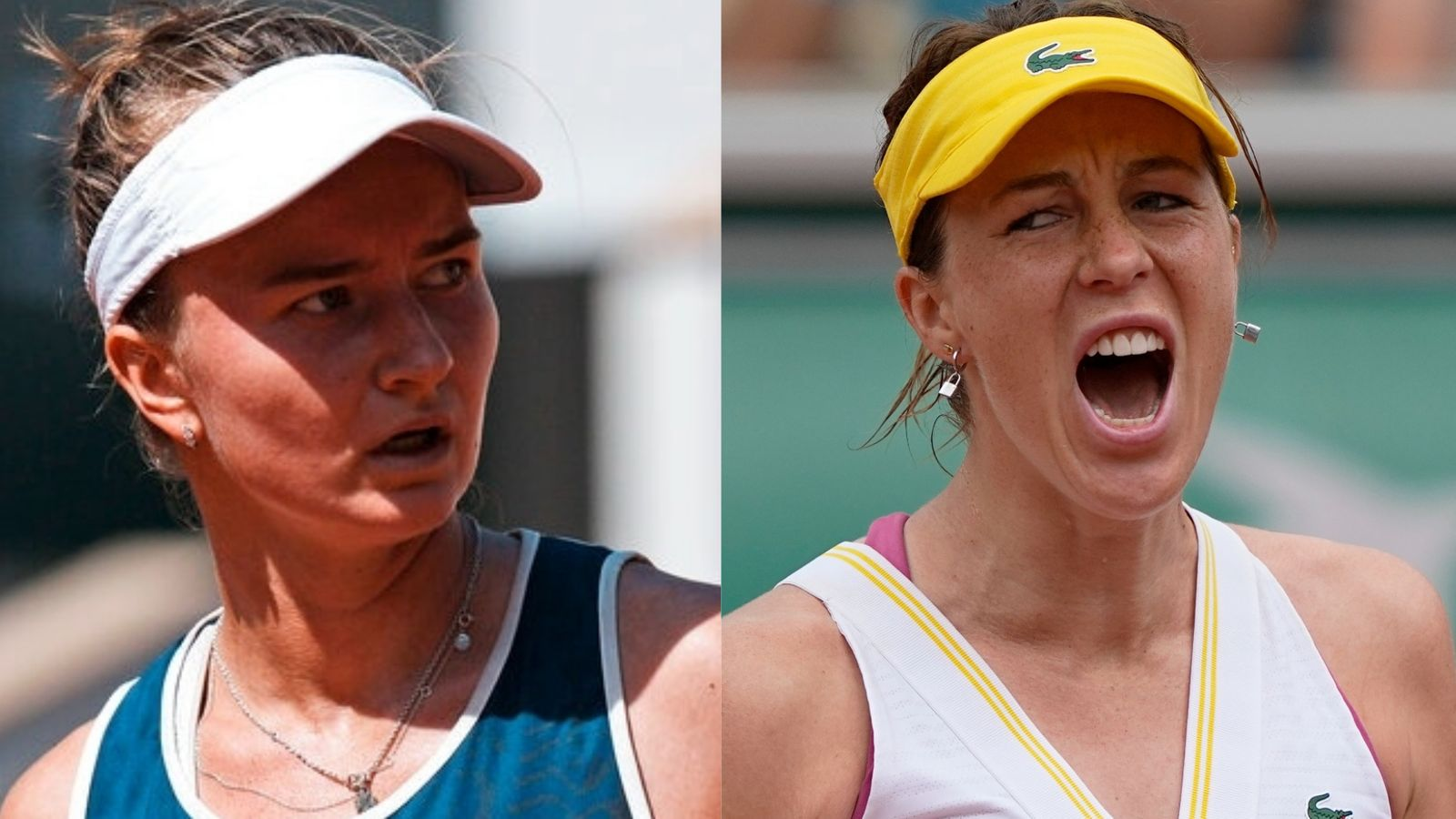 Anastasia to play against Krejcikova in the final of French Open today