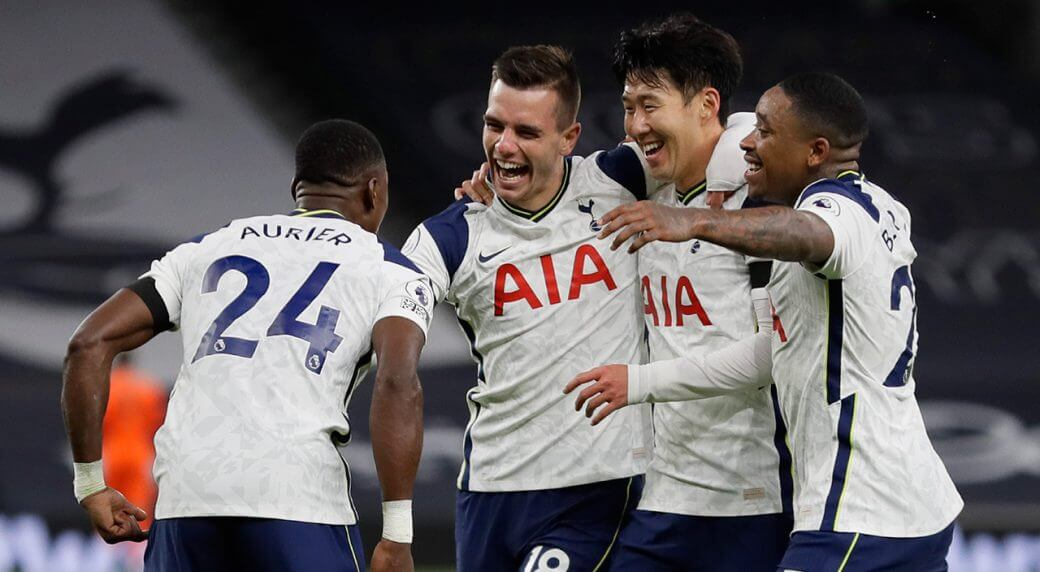 Premier League: Tottenham beat Manchester City 2-0 to go top EPL