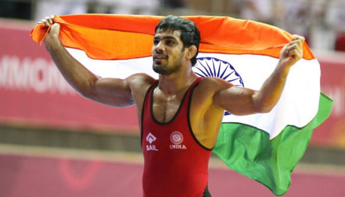 Sushil Kumar clinches gold at Commonwealth Wrestling Championship