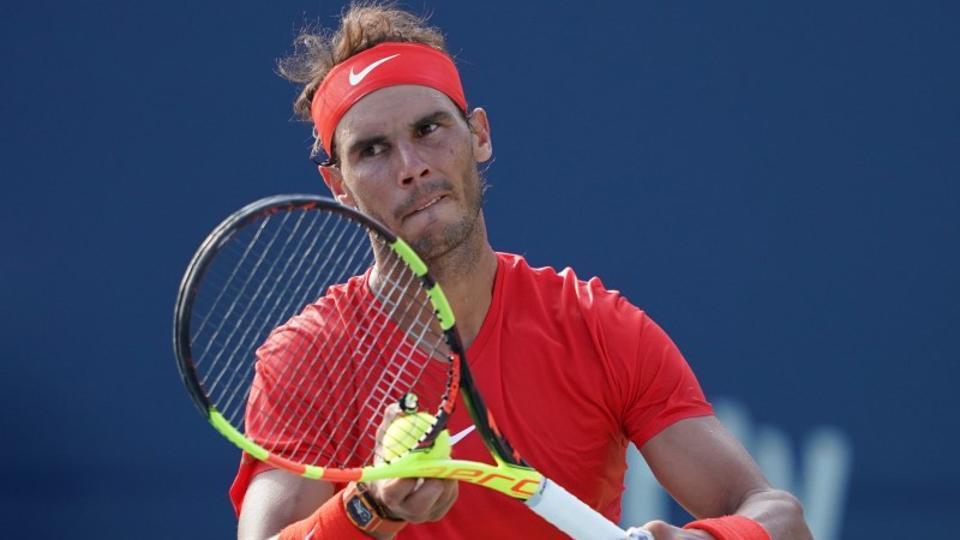Rafael Nadal withdraws from Cincinnati Masters