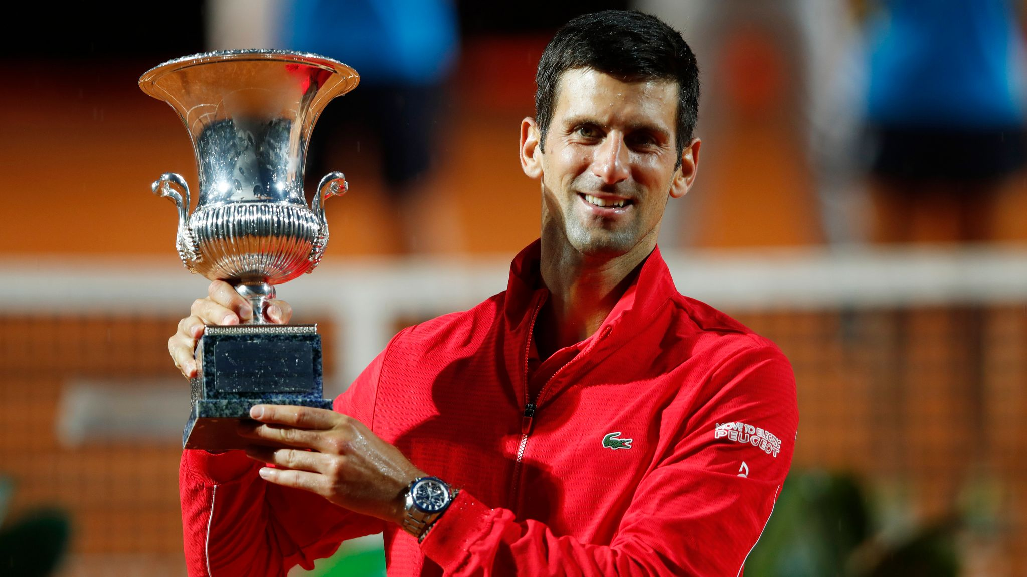Novak Djokovic wins Men