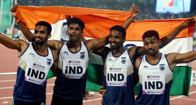 India tops medal tally for first time in Asian Athletics Championships