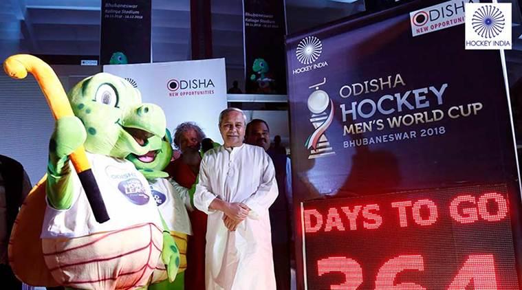 Odisha CM unveils mascot of Hockey World Cup 2018
