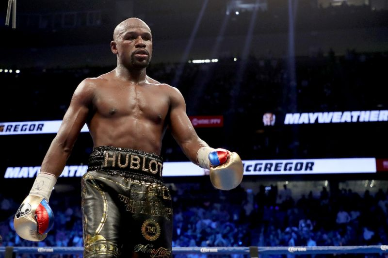 Mayweather to face Japan kickboxer Nasukawa on New Year