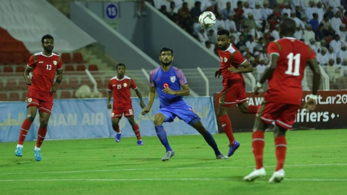 Indian football team virtually knocked out of 2022 World Cup qualifying round