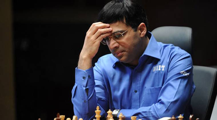 Anand suffers seventh loss in Legends of Chess tourney