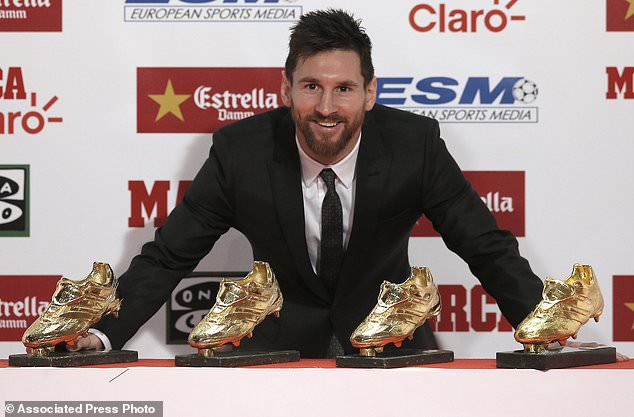 Messi Signs New Contract With Barcelona Through 2021