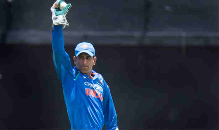 Mahendra Singh Dhoni becomes first wicketkeeper to effect 100 stumpings in ODI cricket