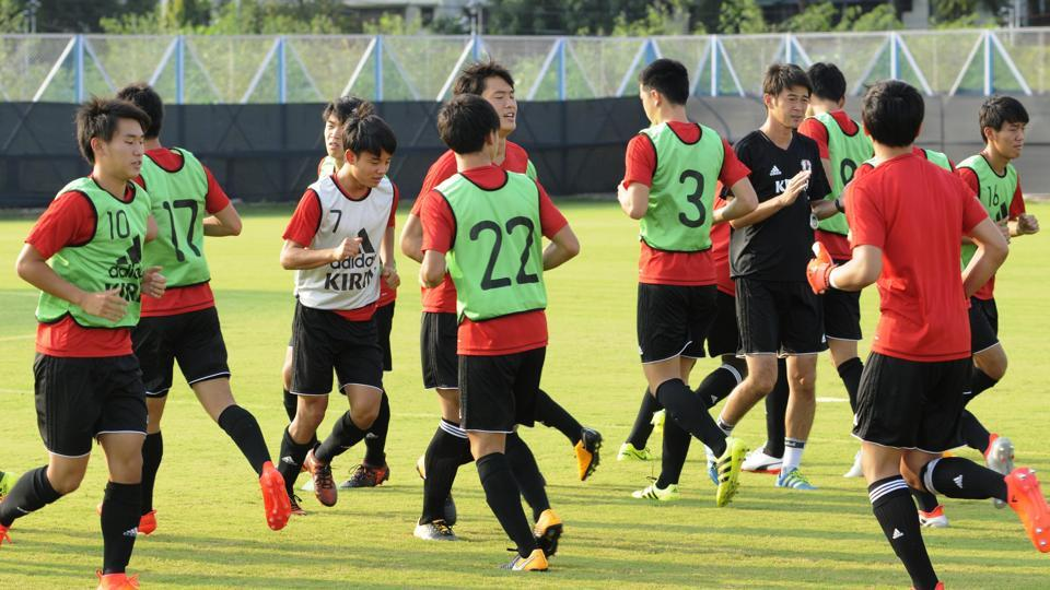 Japan to take on New Caledonia in FIFA U-17 World Cup today