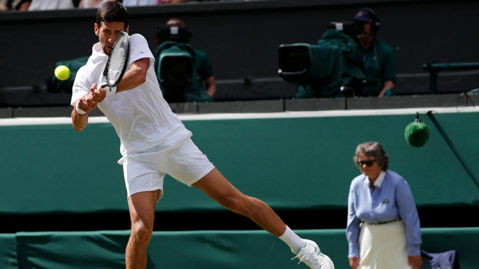 Novak Djokovic enters the second round of Wimbledon Tennis