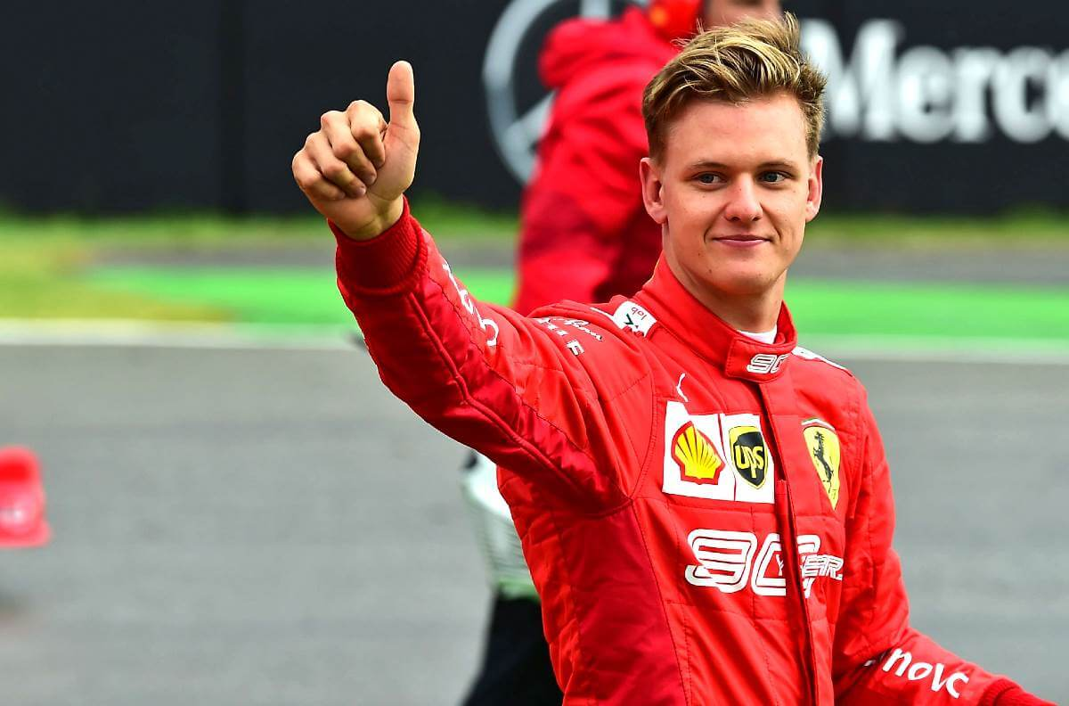 Mick Schumacher son of seven-time world champion Michael Schumacher to race for Haas in 2021
