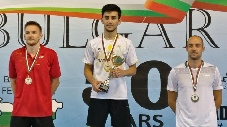 Lakshya wins Bulgaria Open International Series