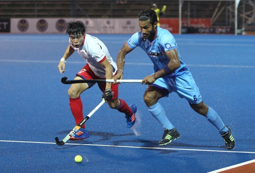 India thrash Japan 10-2 in the Asian Champions Trophy