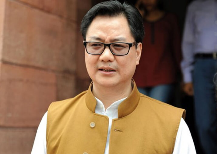 New sports policy under consideration: Kiren Rijiju