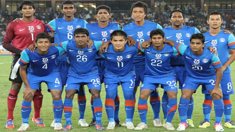 India rise three places in latest FIFA rankings